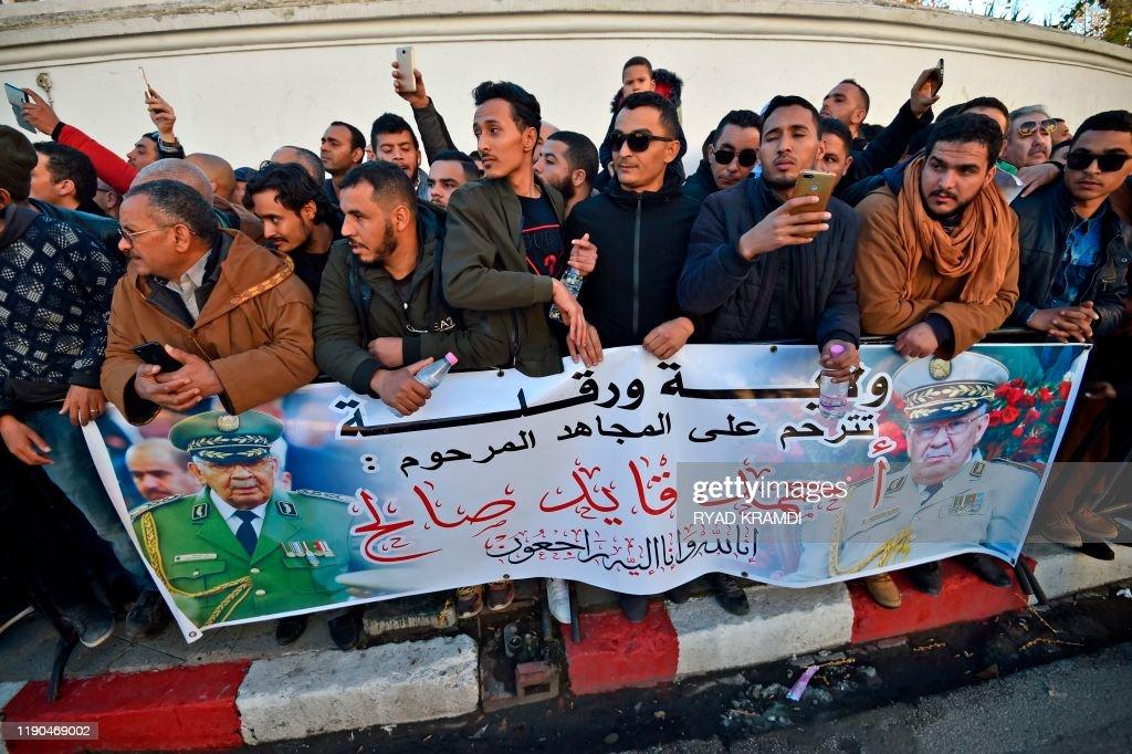 ALGERIA-POLITICS-ARMY-UNREST : News Photo