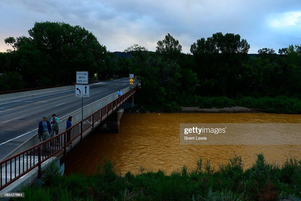 Minewater Spill Creeps Its Way Into Animas River : News Photo
