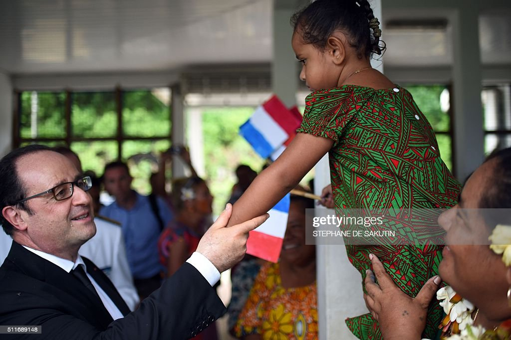 People greet french president francois hollande as he leaves futuna people greet french president francois hollande as he leaves futuna island on february 22 m4hsunfo