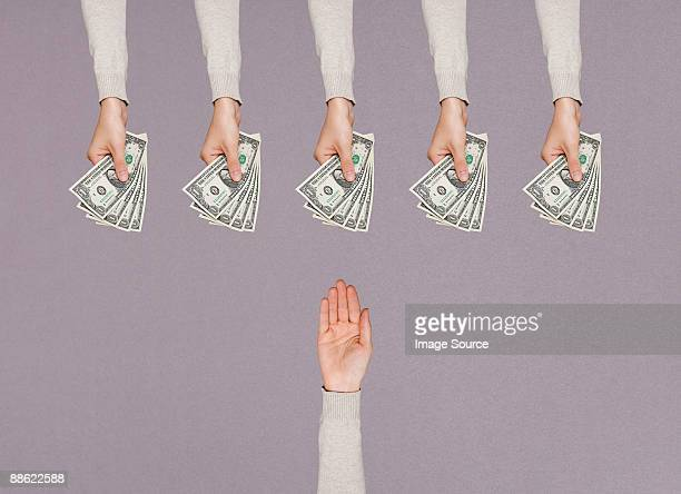 people handing over money - currency stock pictures, royalty-free photos & images