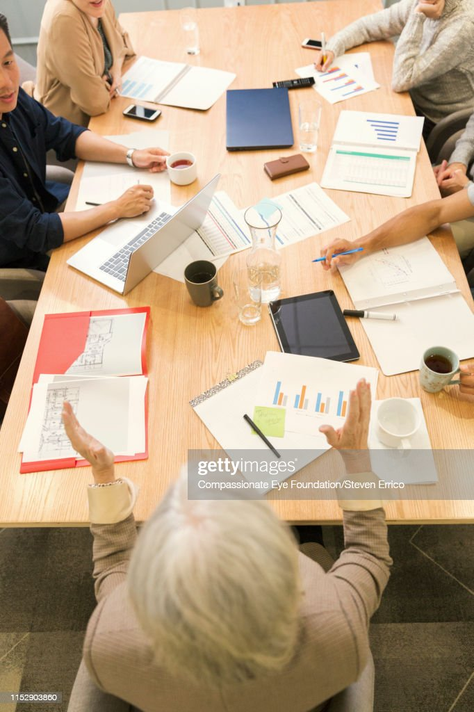 People having business meeting in office : Stock Photo