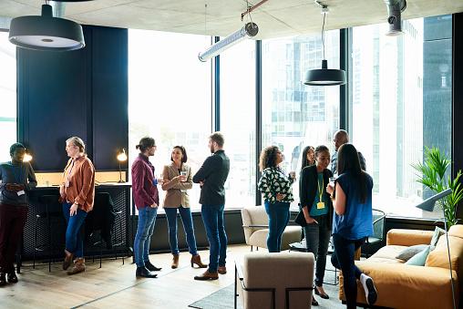 People having meeting in office - gettyimageskorea
