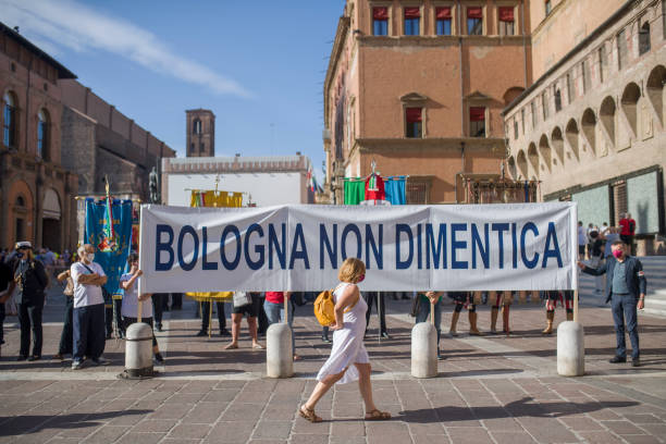 ITA: Celebration Of 2nd August In Bologna