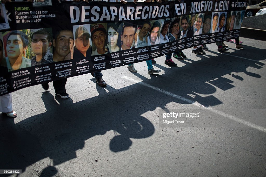 Mother's Day Protest in Mexico City : News Photo