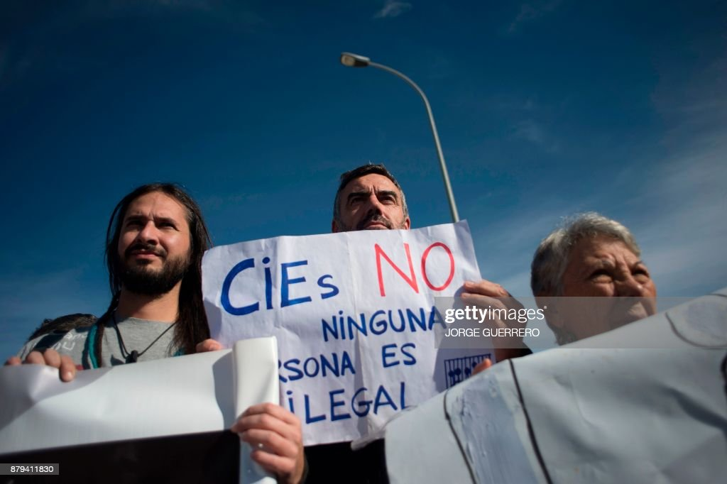 SPAIN-MIGRATION-EUROPE-RIGHTS-DEMO : Fotografía de noticias