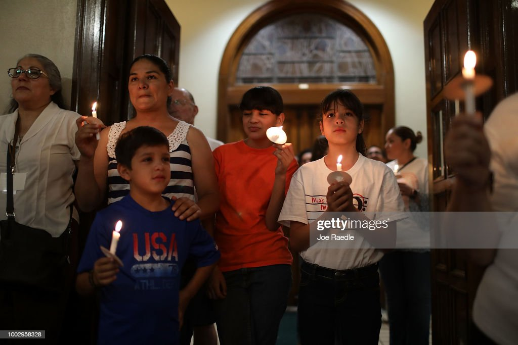 Interfaith Service And Procession Held In Solidarity With Migrants