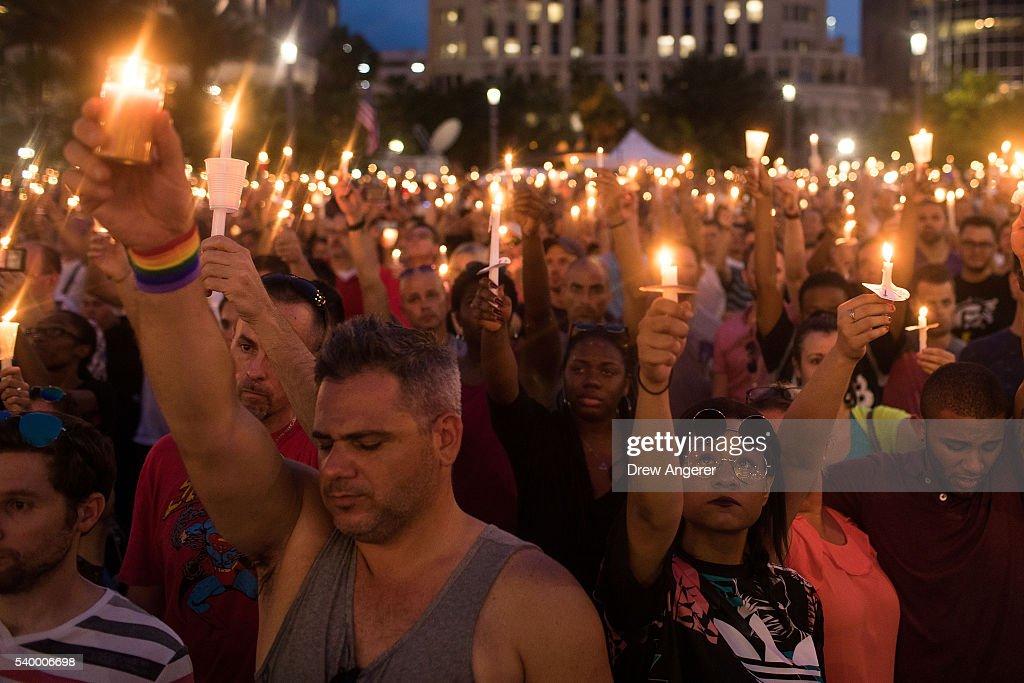 49 Dead In Mass Shooting At Gay Nightclub In Orlando : News Photo
