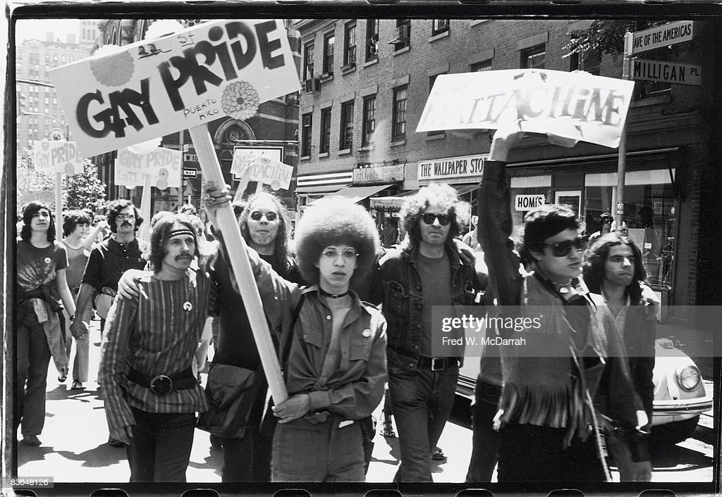 First gay pride stonewall