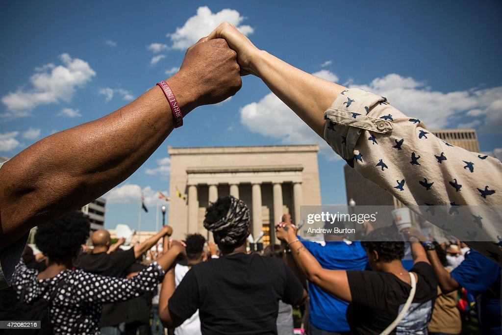 Activists Rally At Baltimore City Hall : News Photo