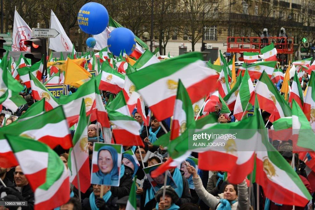 FRANCE-IRAN-POLITICS : News Photo