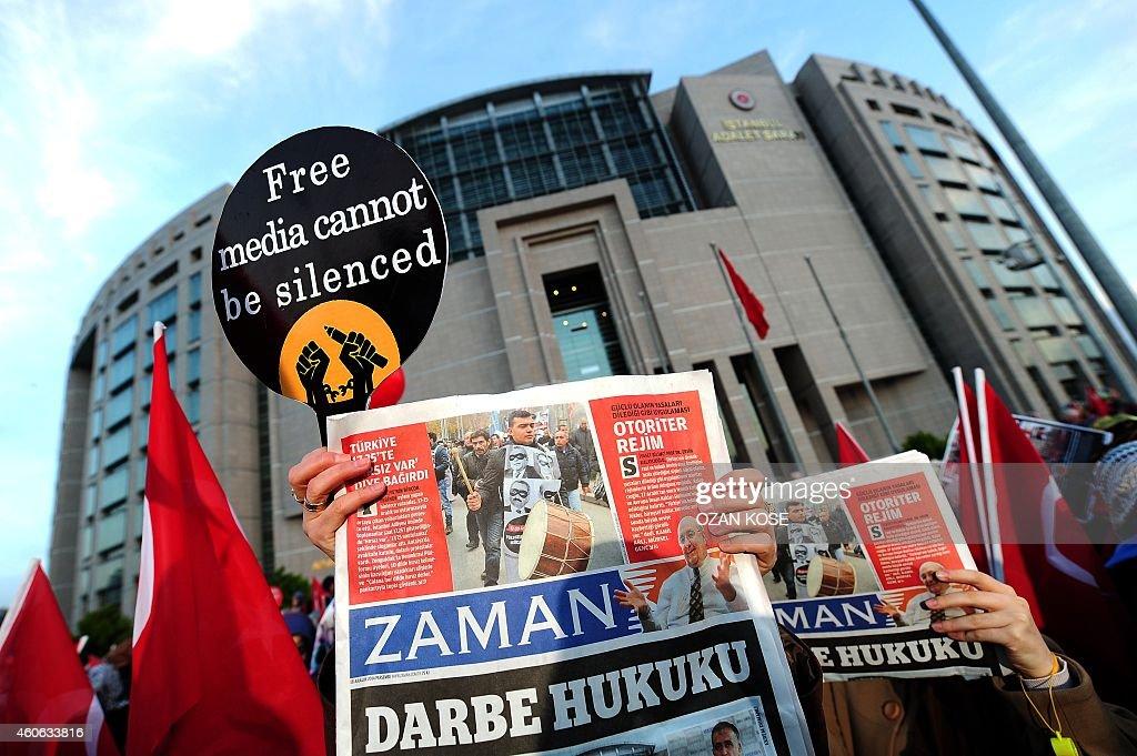 TURKEY-POLITICS-MEDIA-ARREST : News Photo
