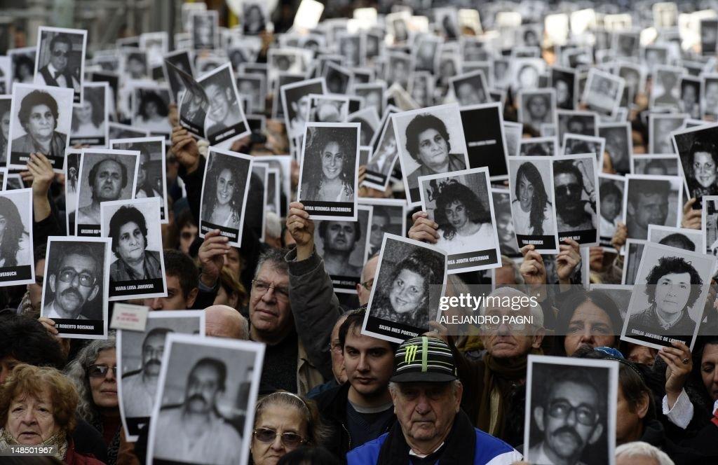 ARGENTINA-AMIA-ATTACK-ANNIVERSARY : News Photo