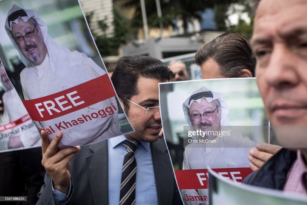 Fears Grow Over Fate of Missing Journalist Jamal Khashoggi : News Photo