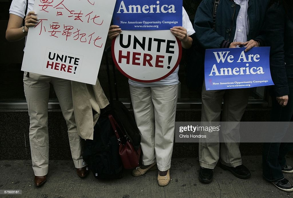 Immigrants Rally And Hold Boycotts Nationwide : News Photo