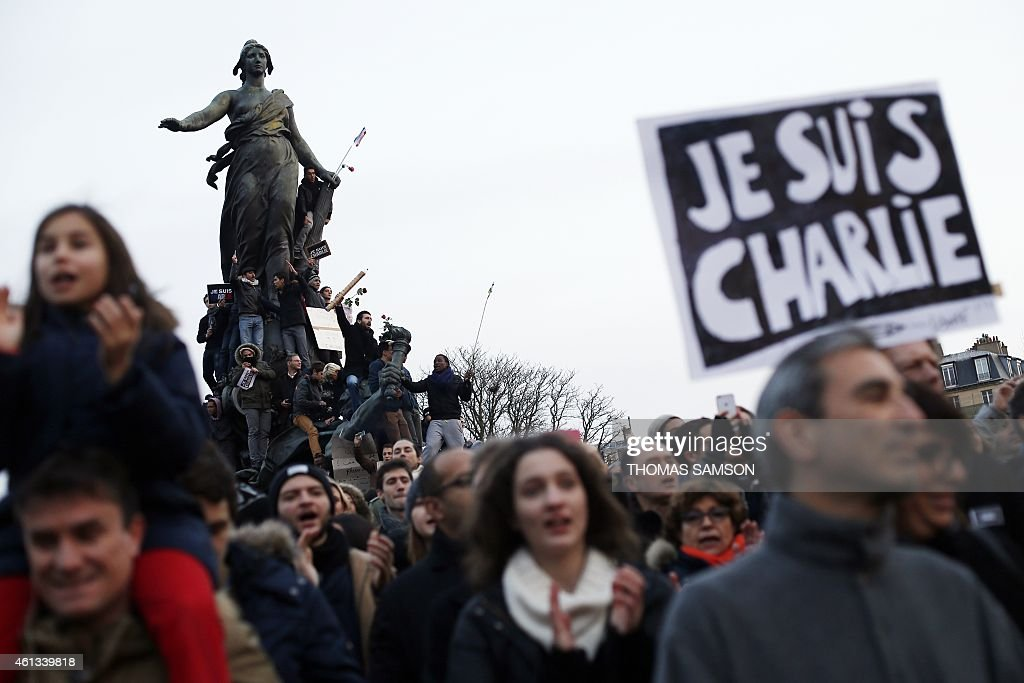 FRANCE-ATTACKS-CHARLIE-HEBDO-DEMO : News Photo