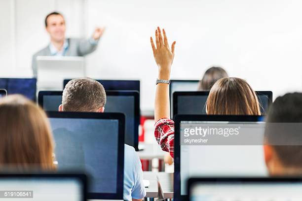 People in a computer lab.