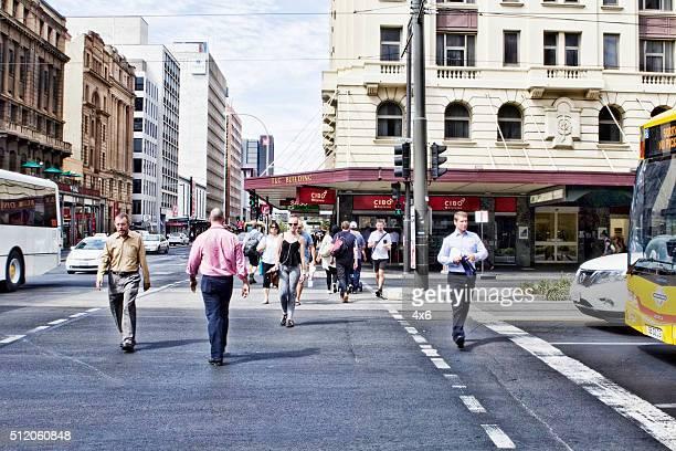 Personnes dans Adelaide
