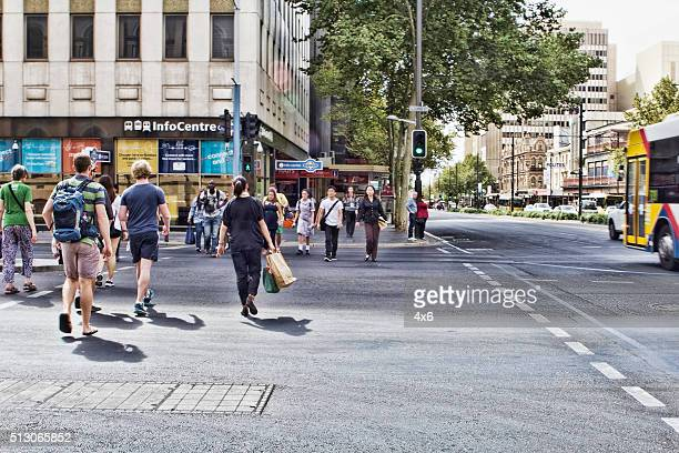 people in adelaide - adelaide city stock pictures, royalty-free photos & images
