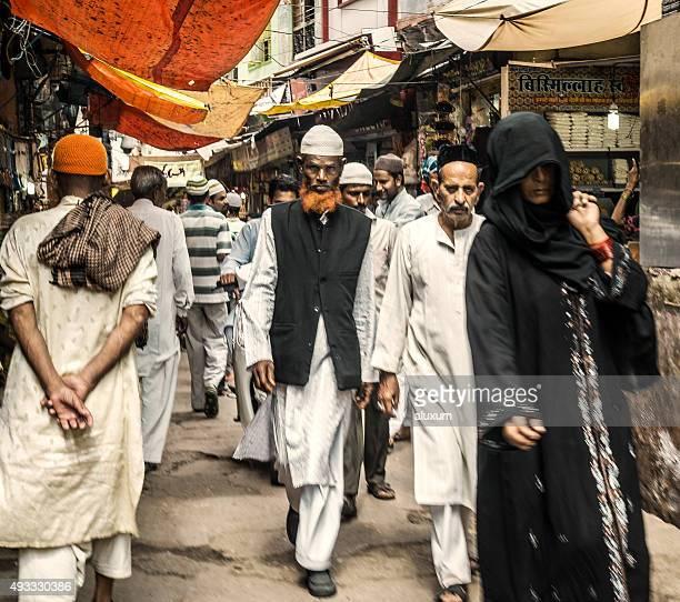 People in Ajmer Rajasthan India