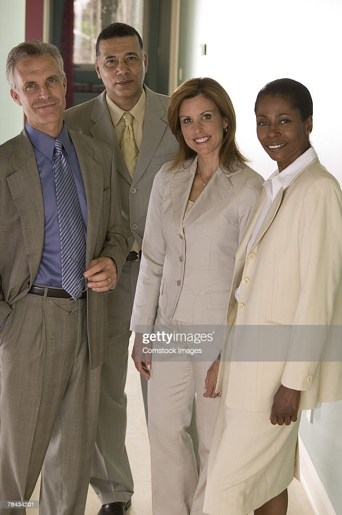 People in business attire : Stockfoto