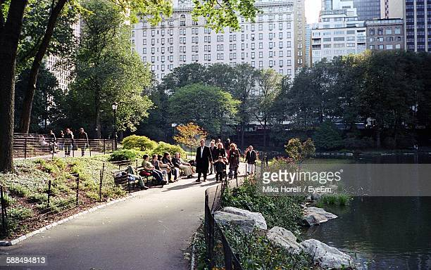 People In Central Park