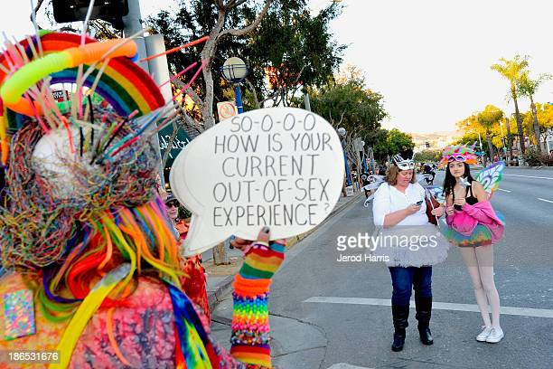 People in fancy dress costume participate in the 2013 West Hollywood Halloween Costume Carnaval on October 31 2013 in West Hollywood California