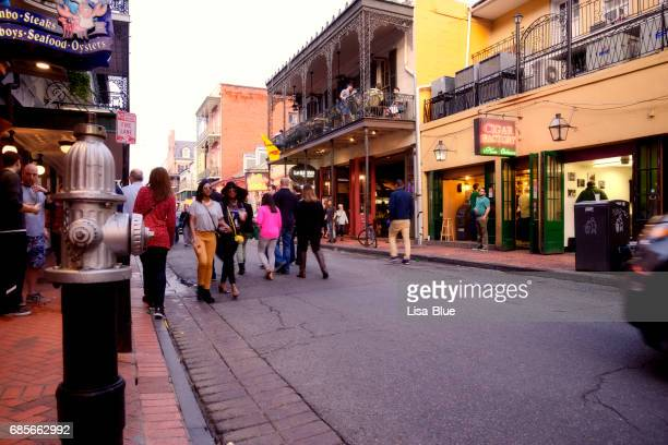 People in French Quarter, New Orleans