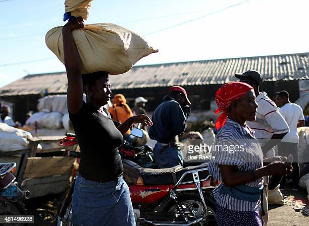 People in Haiti continue to rebuild and reestablish their daily routines after the five year anniversary of the magnitude 70 earthquake that hit just...