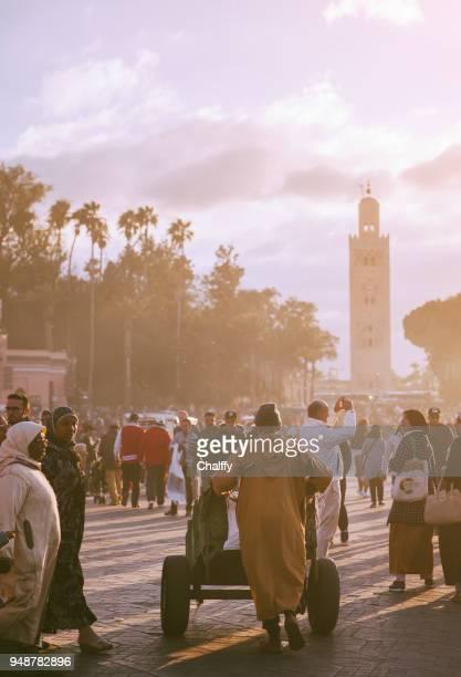 People in Marrakech