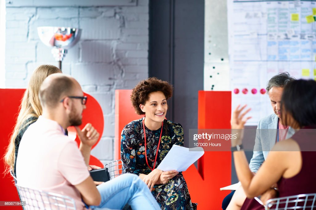 People in modern office : Stock Photo
