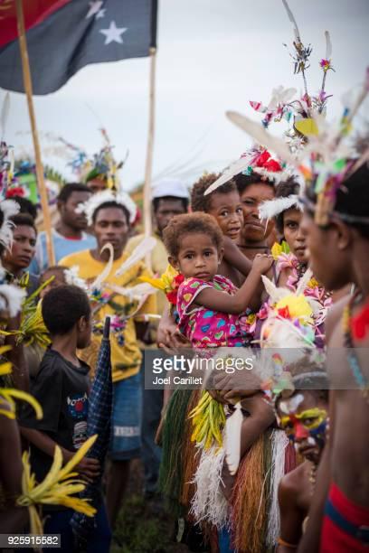 パプア ニューギニアの人々