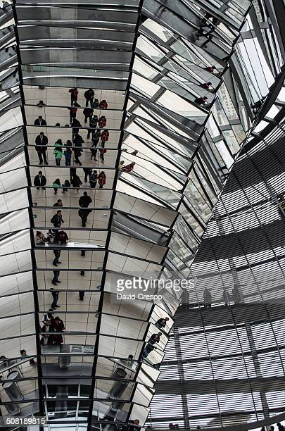 CONTENT] People in Reichstag Dome Berlin Germany German BundestagThe current Reichstag dome is a glass dome constructed on top of the rebuilt...