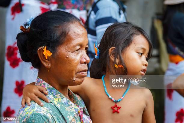 People in Tirtha Empul Temple Bali Indonesia Asia