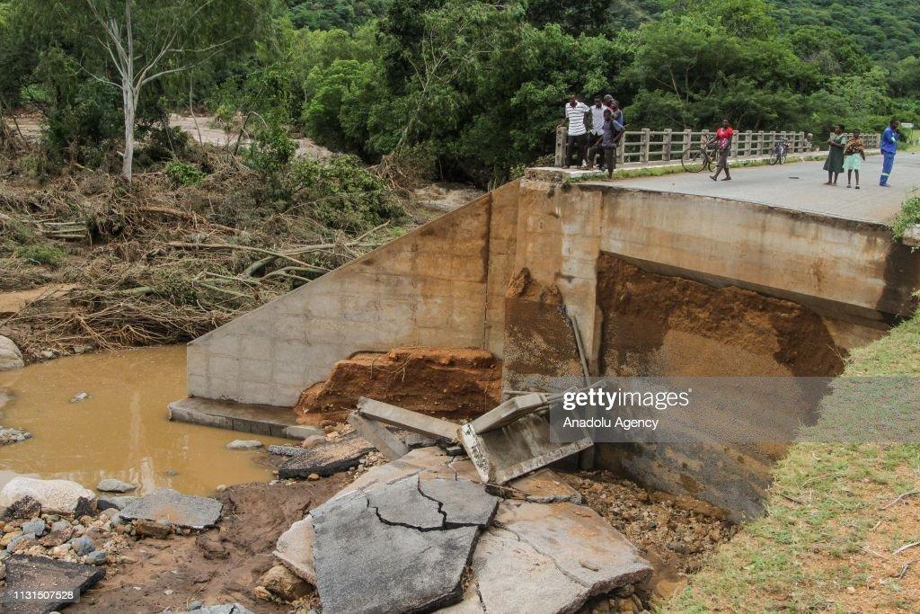 Zimbabwe Cyclone Idai : News Photo