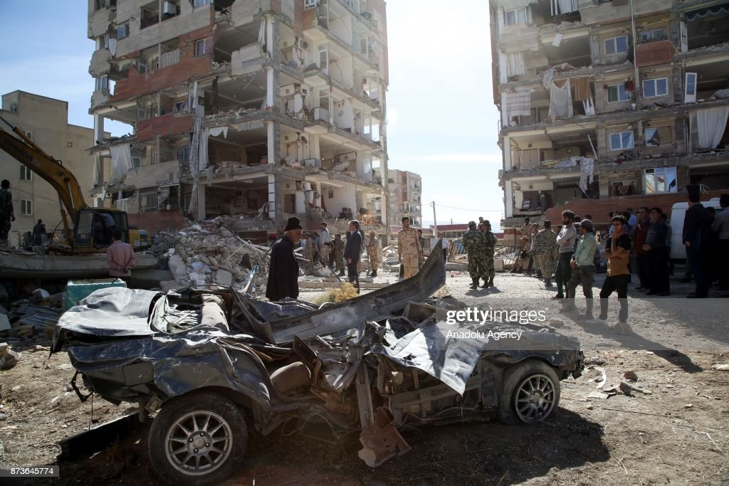 Aftermath of the earthquake that hit Iraq and Iran : News Photo