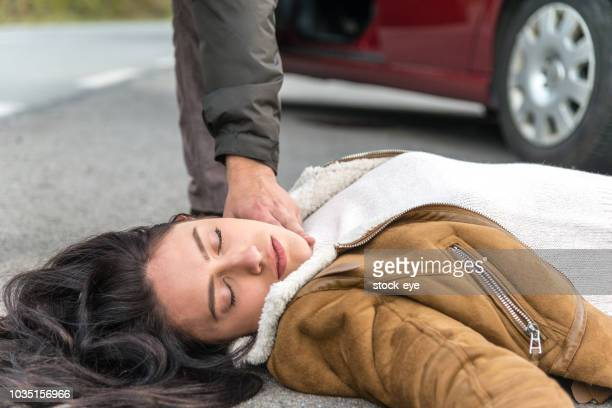 people involved in car accident - dead bodies in car accident photos stock photos and pictures