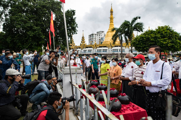 MMR: 32nd Anniversary Of 1988 Uprising In Yangon