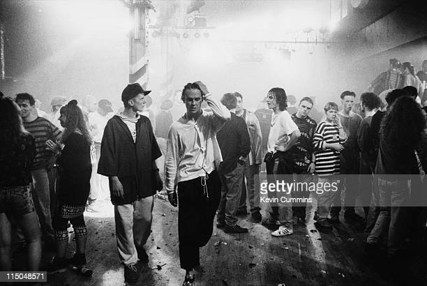30 am at the Hacienda on the night of the club's 8th birthday party Manchester 21st May 1990