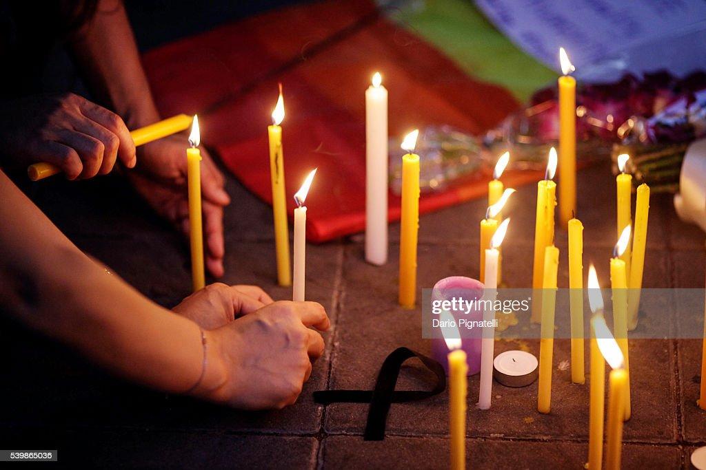 Vigils In Bangkok After The Orlando Shooting : News Photo