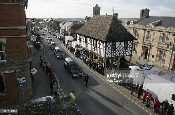 People line the streets of Wootton Bassett to pay tribute as the hearses carrying two Royal Marines and a Gurkha whose deaths last week brought the...