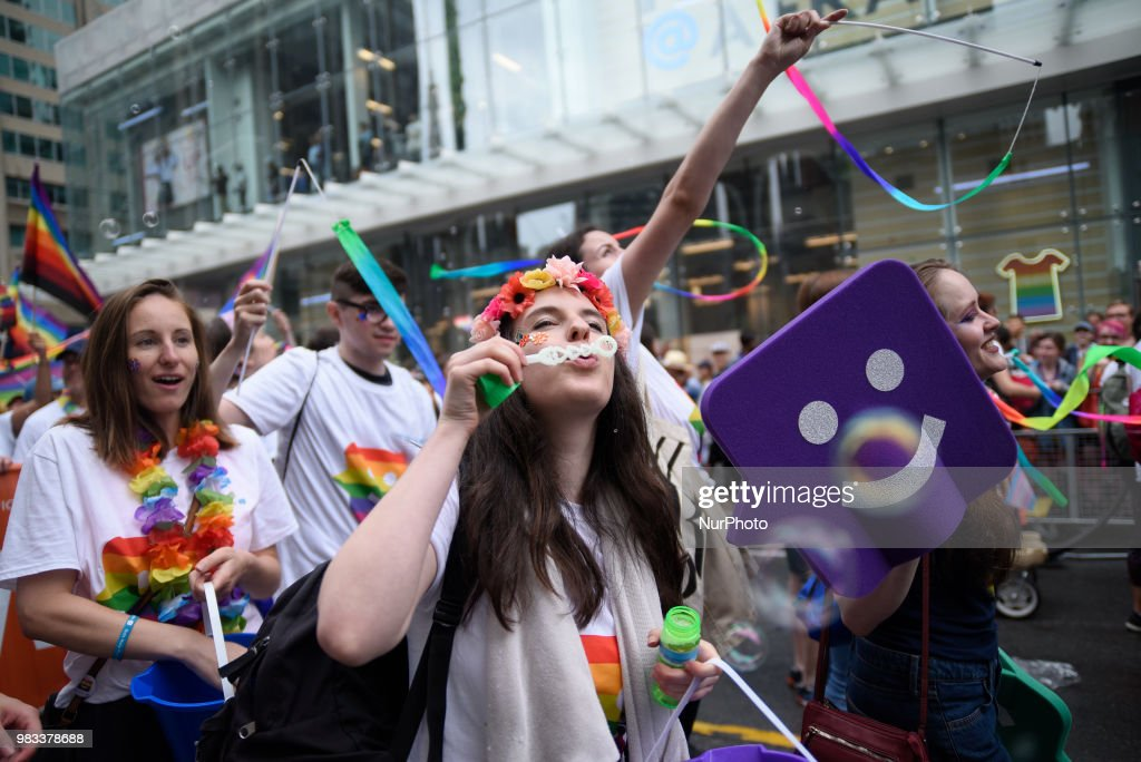 Annual Pride Parade in Toronto