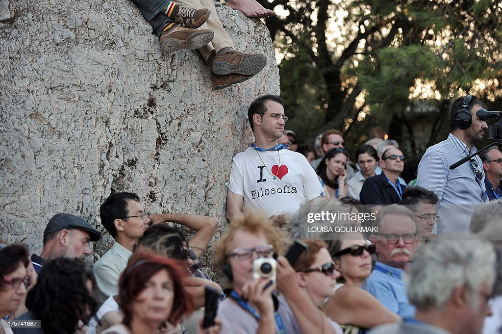 GREECE-CULTURE-PHILOSOPHY-CONGRESS : News Photo