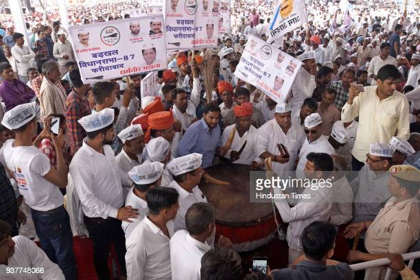 Image result for kejriwal in hisar