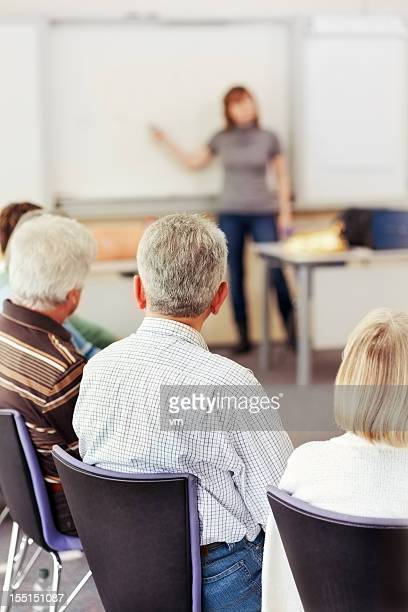 People Listening to Lecture