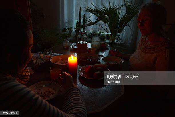 People lit the candles at home as Ukraine experiences power cutoffs Ukraine will be forced to implement more power cuts in case of the weather gets...