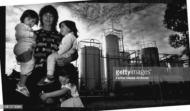 People living close to chemical factories how they feelNot of a Chemical Plant in the area Not the ICI Plant/WharhouseJenny McMartin and her three...