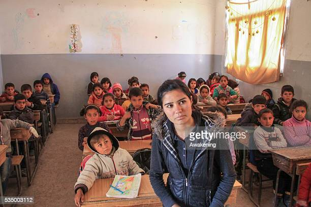 People living in Kobane try to get back to a normal life and some of the one that left during the seize are going back to their homes