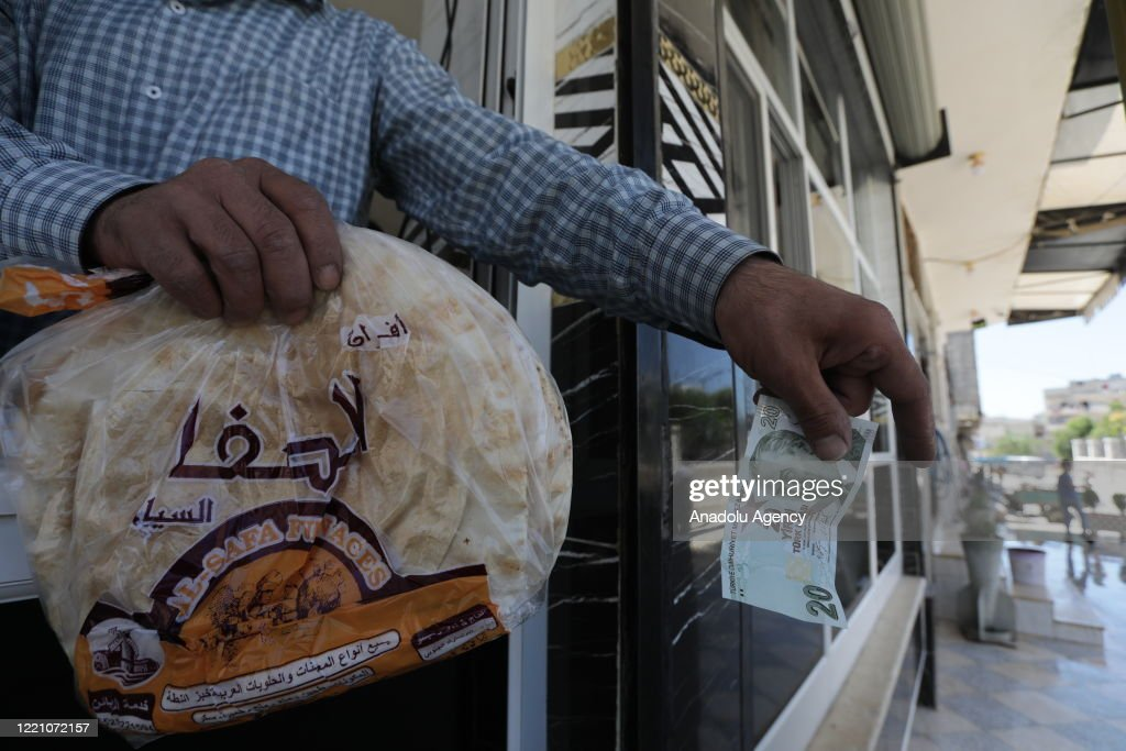 NW Syria makes Turkish lira currency of choice : News Photo