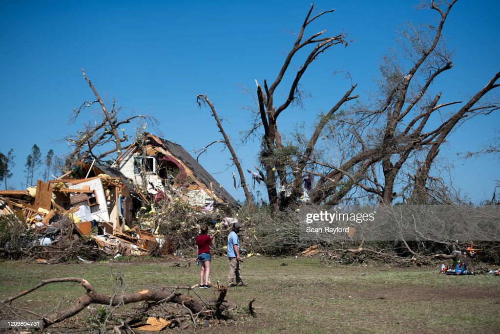 At Least 30 Dead As Severe Storms Spawn Tornados In Southern U.S. : News Photo