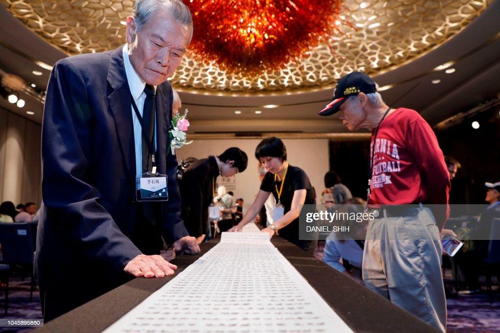 Taiwan-politics-rights-White-Terror-history : News Photo